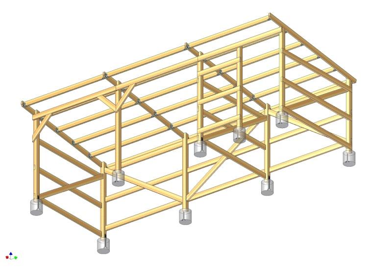 ABRI-BOX 9m x 3m - pour chevaux - Page 3 Struct11