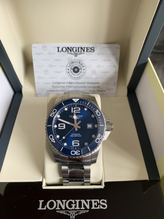 Vends - [Vends] LONGINES HYDROCONQUEST CERAMIQUE  2pknus10