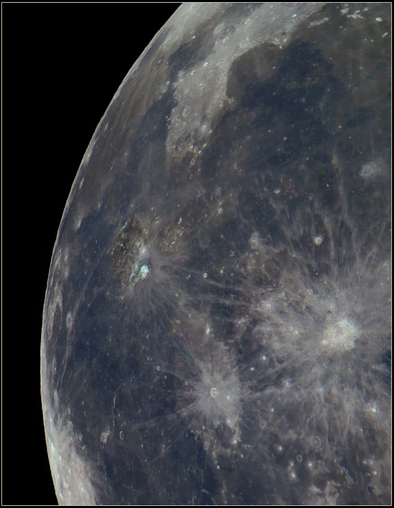 Aristarchus region Moon110