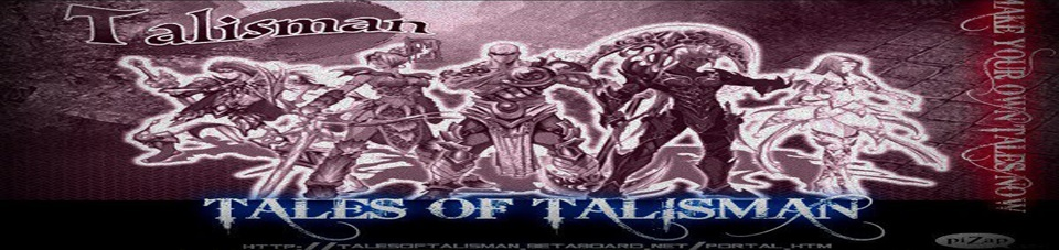 Welcome To Tales Of Talisman Forum