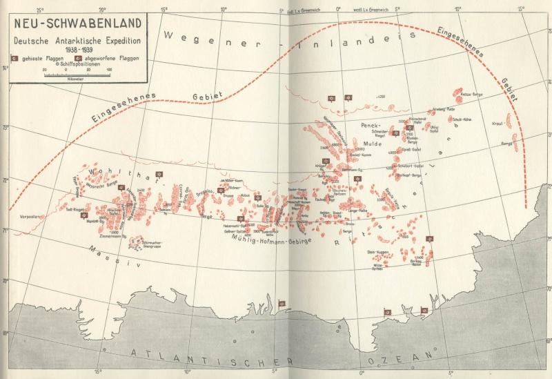 Hohle Erde, Neuschwabenland Karte-10