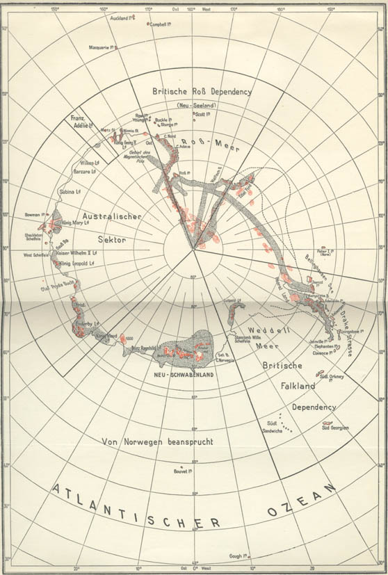 Hohle Erde, Neuschwabenland Karte-11