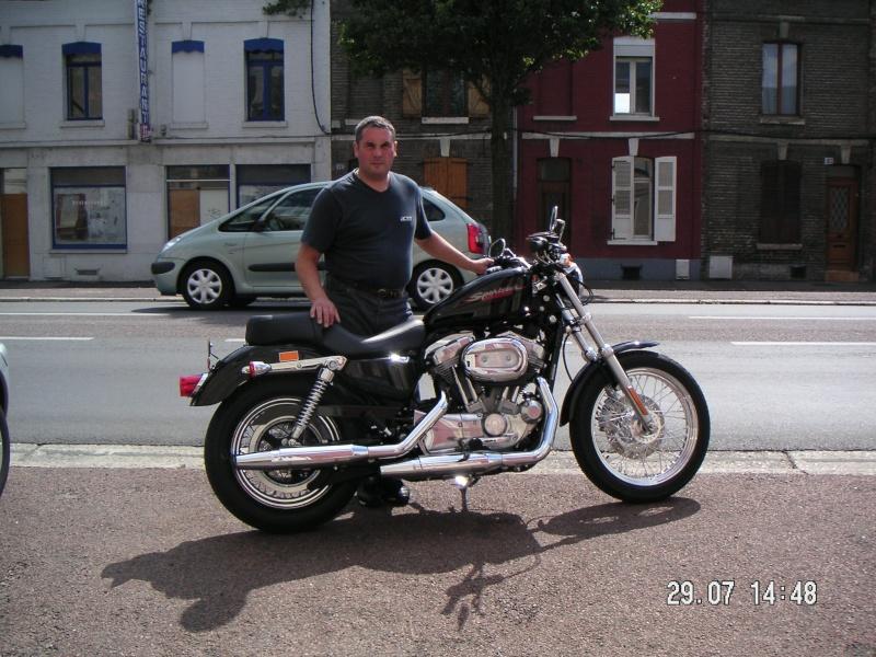 me voila et ma mob Harley10