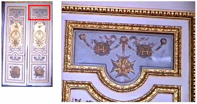 """Un """"H"""" sur les murs de Versailles 26353610"""