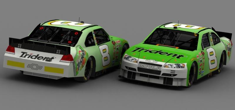 Randall Green #8 Trident Chevrolet - R Rjband10