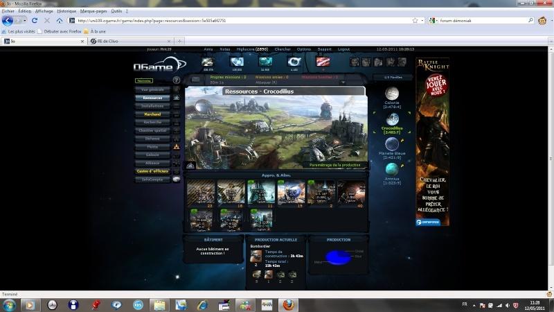 Alliance Démoniak - Ogame Univer Io - Portail Infoco10