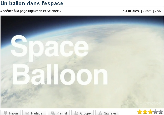 Un ballon dans l'espace 0-ball10