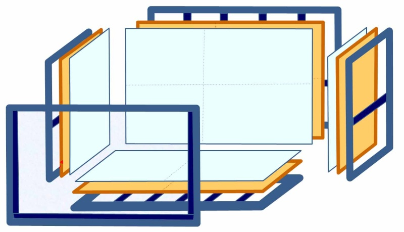 sensation d'immensité : chapitre 4 : la structure en bois & acryl Image039