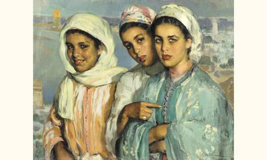Les Peintres Orientalistes 1 Jose-c10