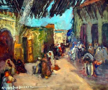 Les Peintres Orientalistes 1 Melkne10
