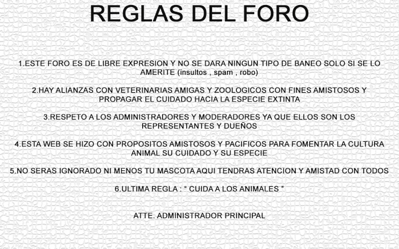 REGLAS DEL FORO ( aqui ) Reglas11