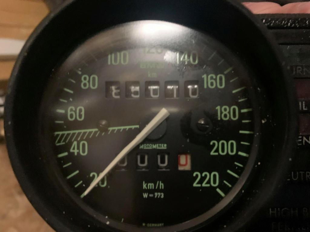 Ratio compteur R80RT1 de fin 1985 511