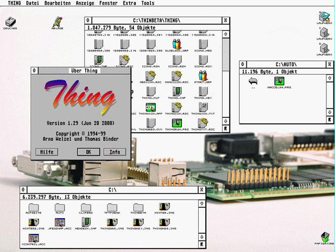 Atari FireBee, un atari Falcon a base de ColdFire Thing10