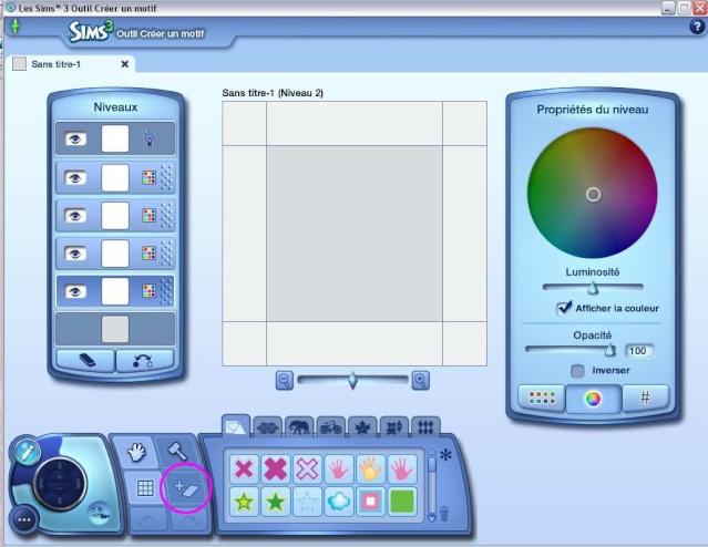 [Débutant] Créer un motif à partir d'une image avec l'outil créer un motif  Tuto_m10