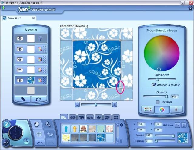 [Débutant] Créer un motif à partir d'une image avec l'outil créer un motif  Tuto_m12