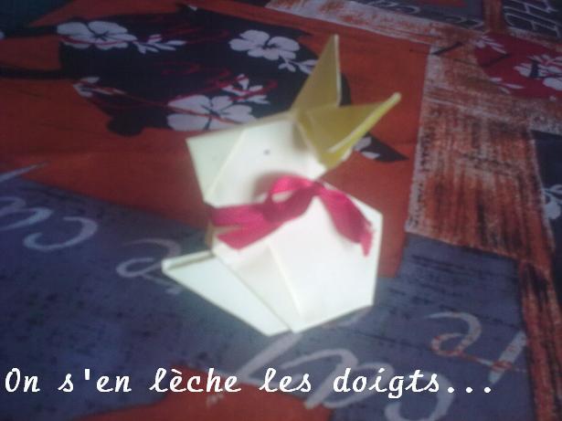 lapin de pâque en origami  Lapino11
