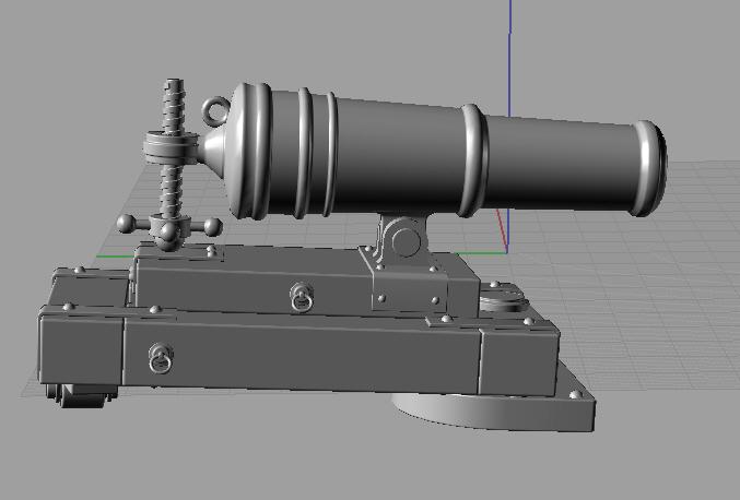 Cannoni napoleonici inglesi Carron12