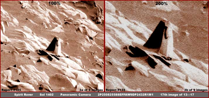 Mars - Lander and Rover Images 03-13510