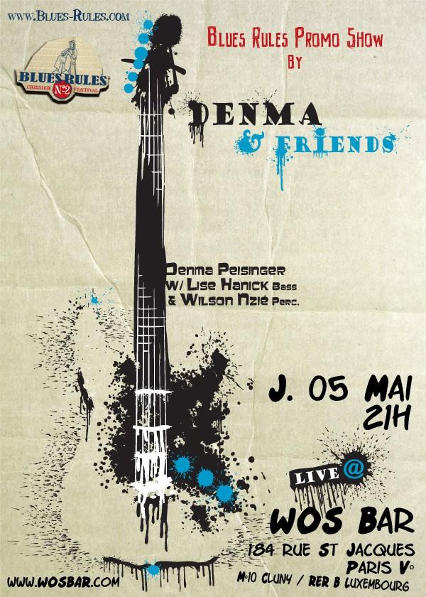 Blues Rules Promo Show - 05/05/11 Denma-11