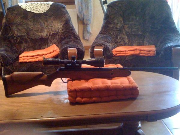 Présentation Stoeger X20 bois et Hatsan mode 85 finition camouflage. Img_0415