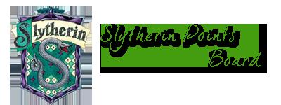 Slytherin House Points (Term 5) Slythe10
