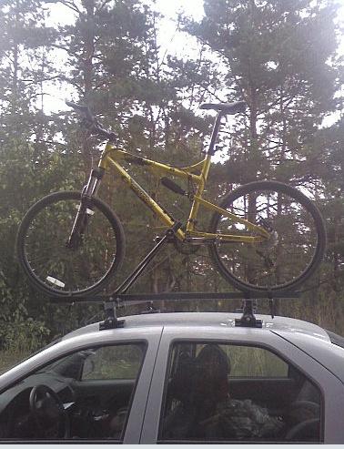 Автобагажник для перевозки велосипедов Dnndun14