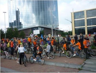 Праздничный велопробег, который прошёл 12 июня, побил рекорд по массовости и не обошёлся без драки Dnndun19