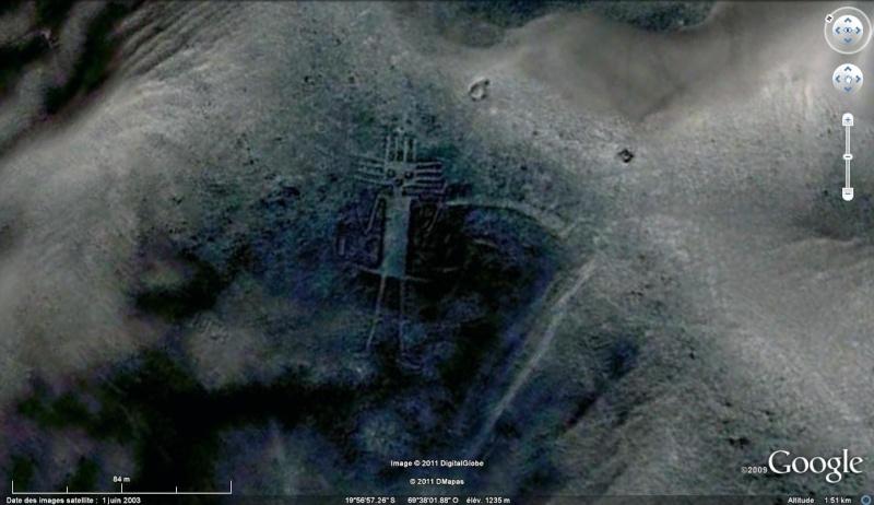 Les Géoglyphes découverts en Amérique du Sud avec Google Earth Chat_g10