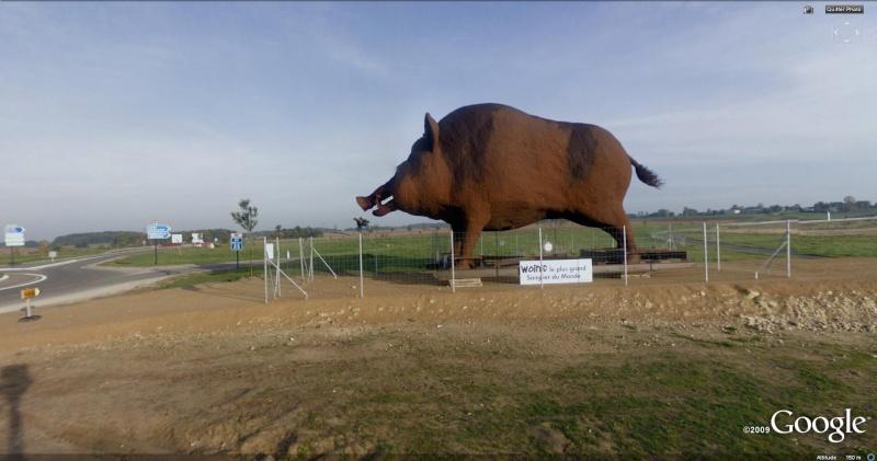 STREET VIEW : Les statues d'animaux dans le monde - Page 2 Woinic10