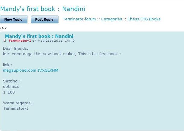 nandini ctg 00910110