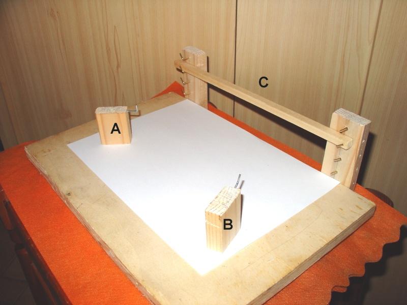 vele - Formatura vele per simulare l'azione del vento. Per vele latine e quadre Figura10