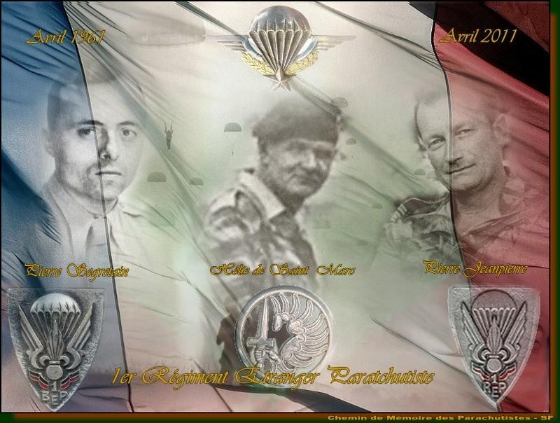HOMMAGE AU 1er REP Régiment Etranger de Parachutistes et au commandant Hélie De St Marc 1er_re10