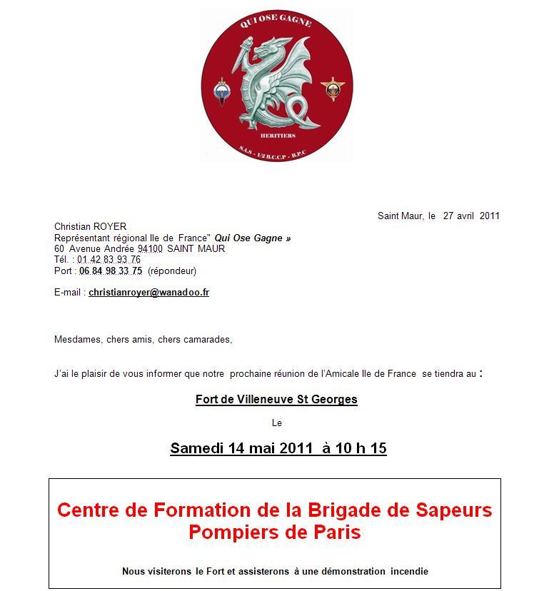 """14 mai 2011 - Association """"Qui Ose Gagne"""" Fort de Villeneuve St Georges Qui_os11"""