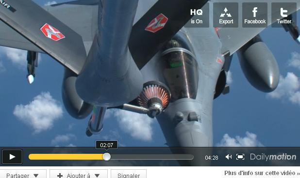 Aperçu des missions de ravitaillement en vol de l'Armée de l'Air, dans le cadre de la mission Harmattan, en Libye… Ravita10