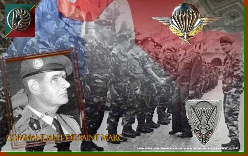 HOMMAGE AU 1er REP Régiment Etranger de Parachutistes et au commandant Hélie De St Marc St_mar10
