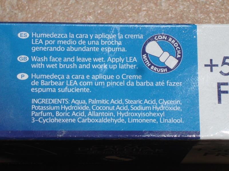 Crème à raser LEA Dsc01724