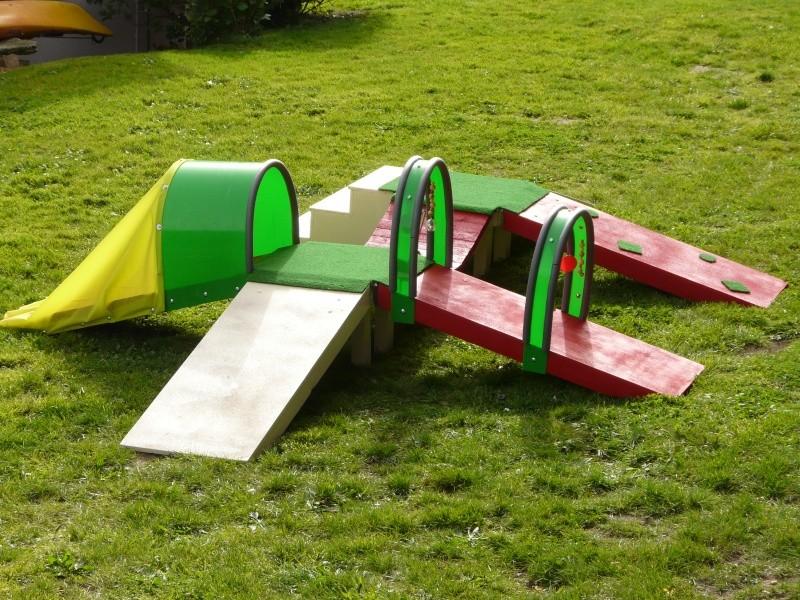 chiot - Fabricant D'obstacles d'agility--Obstacles évolutif--Agrès multi éveil chiot--PRO-- P1040018