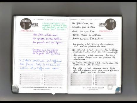 cahier de texte ou agenda pour les CP ? 164-1110
