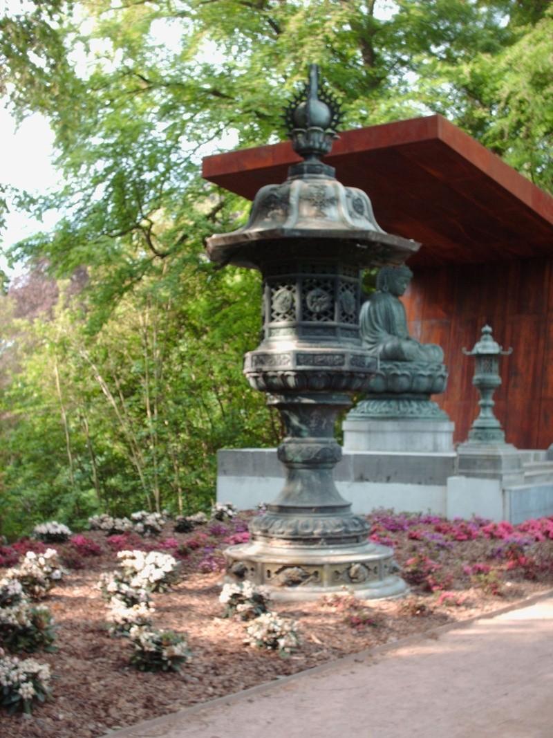 Bouddha au Parc de Mariemont 11-05-11