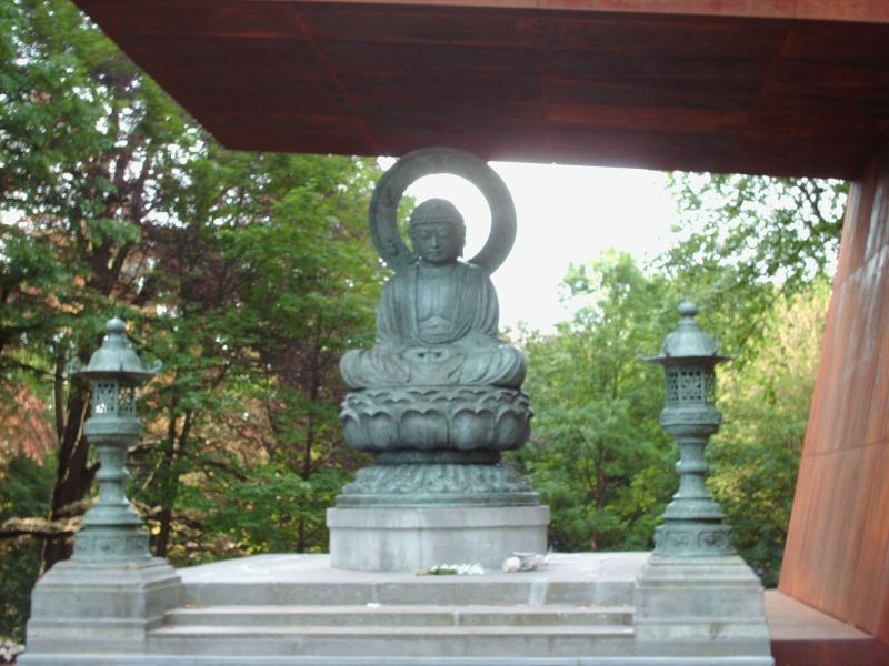 Bouddha au Parc de Mariemont 11-05-12