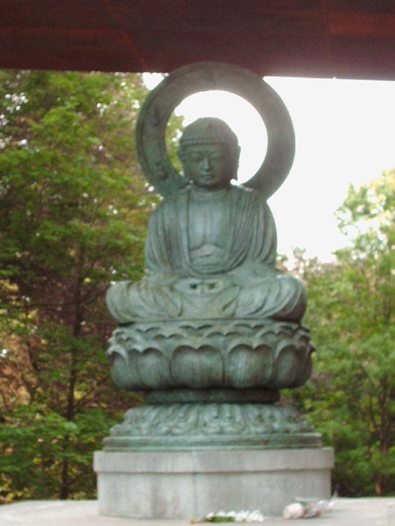 Bouddha au Parc de Mariemont 11-05-13