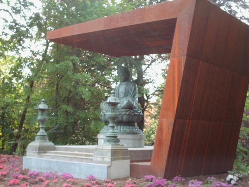 Bouddha au Parc de Mariemont 11-05-14