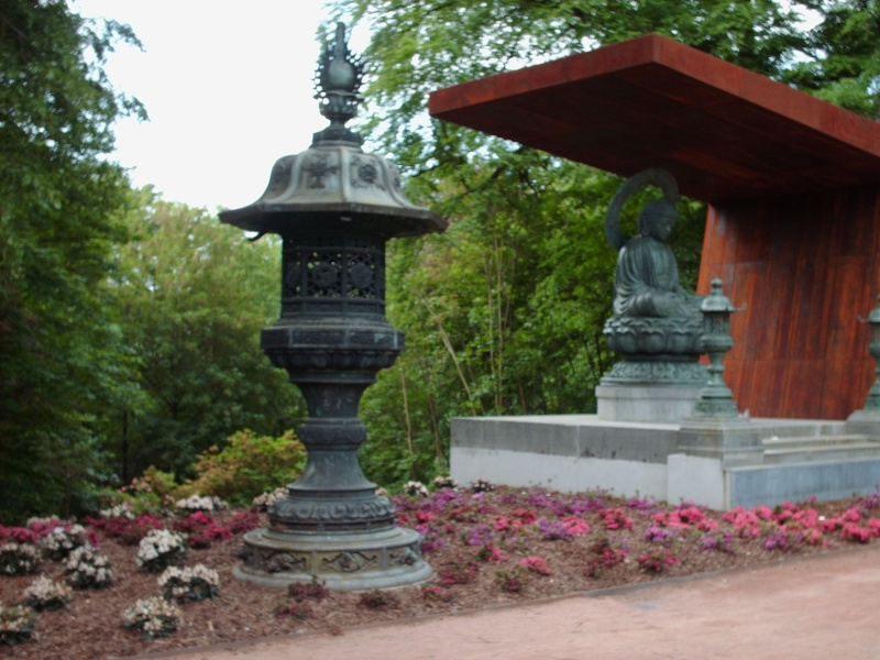Bouddha au Parc de Mariemont 11-05-15