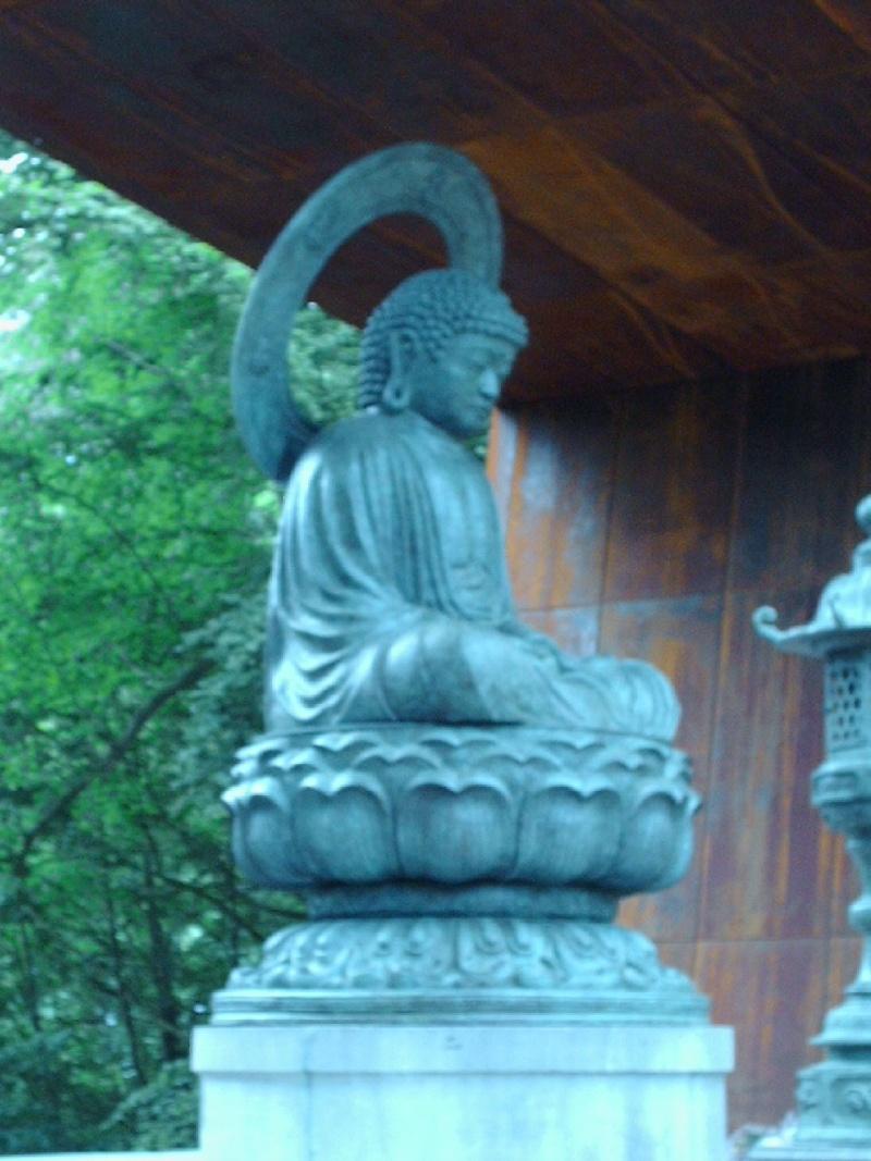 Bouddha au Parc de Mariemont 11-05-16