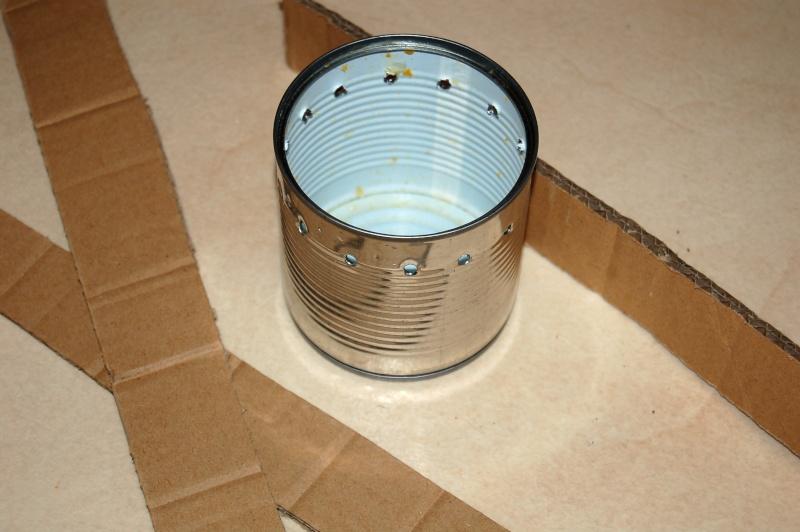 [TUTO] Réchaud carton cire 100% recyclage Dsc_5024