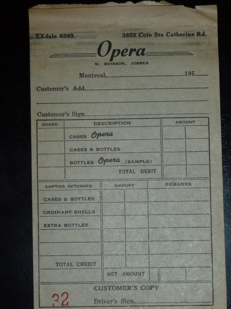 Les breuvages Opera de Ste-Agathe de Lotbinière Bill10