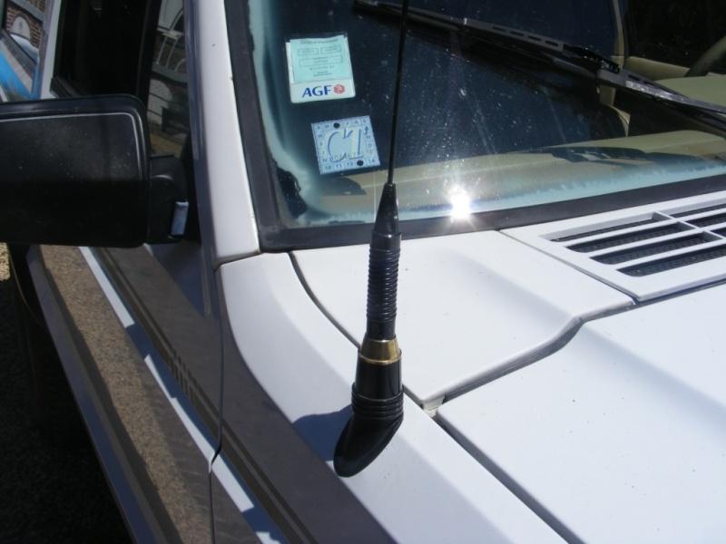 Remplacement antenne d'origine par antenne CB 2111