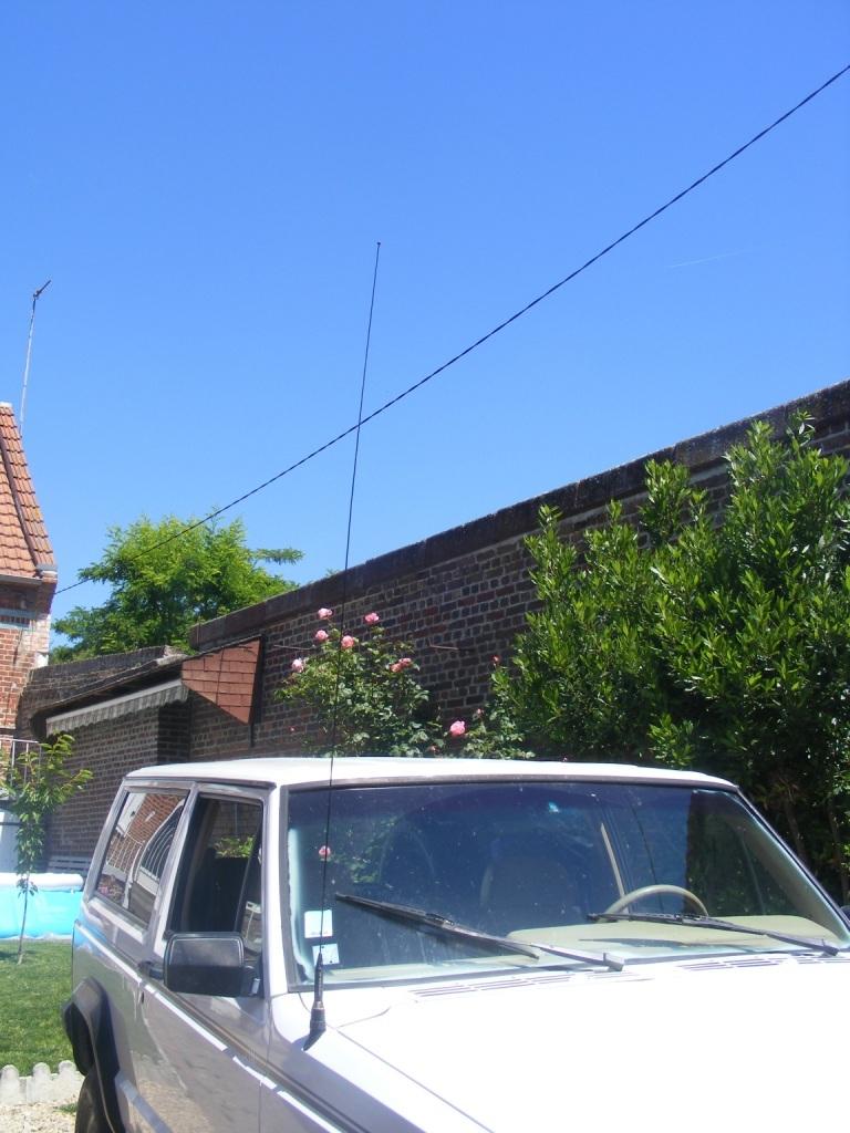 Remplacement antenne d'origine par antenne CB 2210