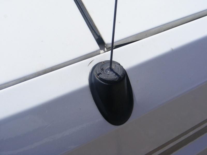 Remplacement antenne d'origine par antenne CB 311