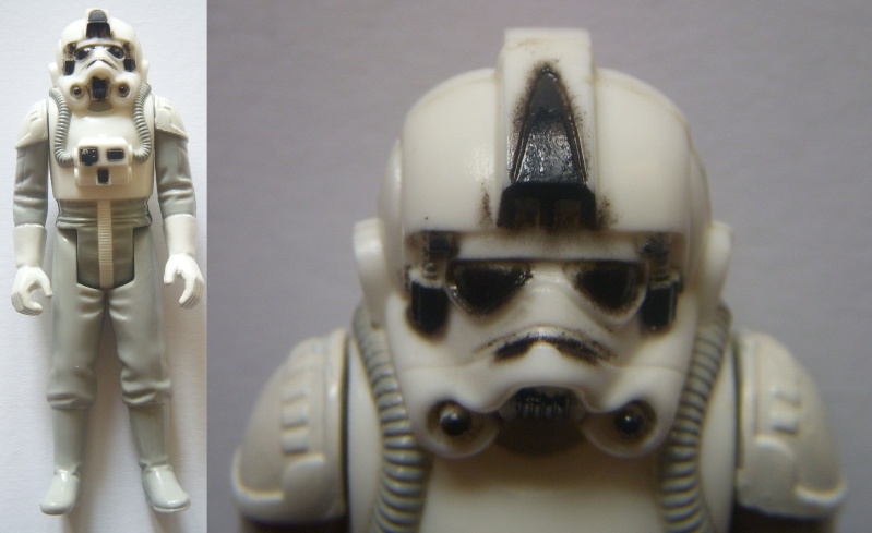 A Gold Death Star Droid, A scarred up Leia! Factory errors and other Curiosities At-at_10